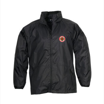 VCoM Waterproof Spray Jacket (lined) - (Small logo) Fits over your riding jacket. Member price: $52 Thumbnail