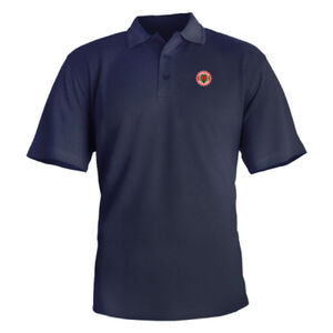 VCoM Unisex Polo Shirt (Small logo) Member price only $28 Thumbnail